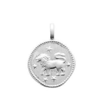 Pendentif argent 925/000 rhodié Lion 77696007