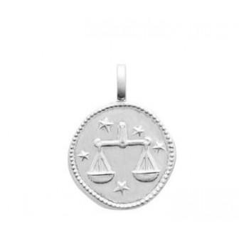 Pendentif argent 925/000 rhodié Balance 77696009