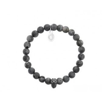 bracelet acier 316 L Labradorite 312028
