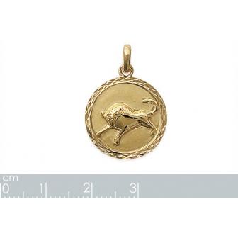 Pendentif plaqué-or 750/000 3 microns horoscope 24821104