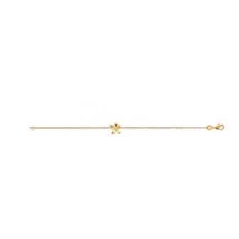 Bracelet plaqué-or 750/000 3 microns oz 97324318