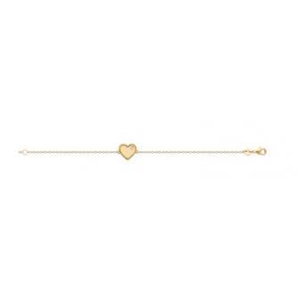Bracelet plaqué-or 750/000 3 microns oz 973268
