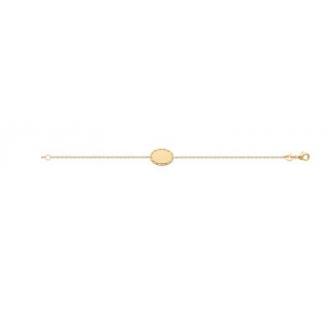 Bracelet plaqué-or 750/000 3 microns 921722