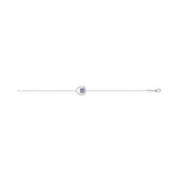 Bracelet argent rhodié 925/000 Pierre synthétique 87327918