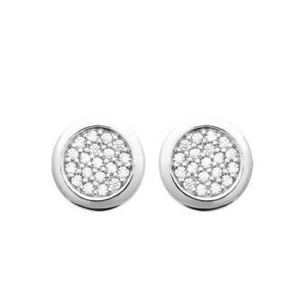 Boucles d'oreilles argent rhodié 925/000 oz 1572410