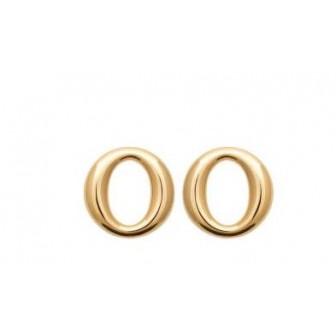 Boucles d'oreilles plaqué-or 3 microns 750/000 2584100