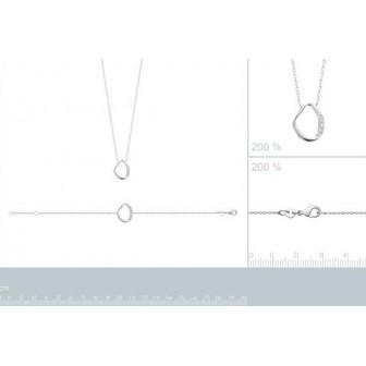 Bracelet argent rhodié 925/000 oz 87344018