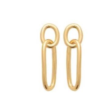 Boucles d'oreilles plaqué-or 750/000 3 microns 2583800
