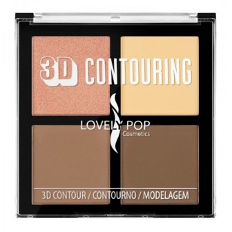 3D CONTOURING COOKIE LOVELY POP 10724