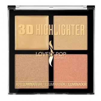 3D HIGHLIGHTER LOVELY POP 10722