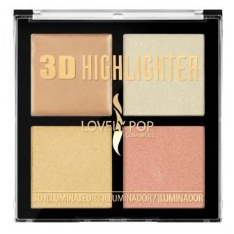 3D HIGHLIGHTER SUNRISE LOVELY POP 10721